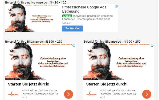 Google Remarketing / Retargeting