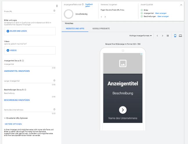 Google Display-Anzeigen schaffen Vertrauen