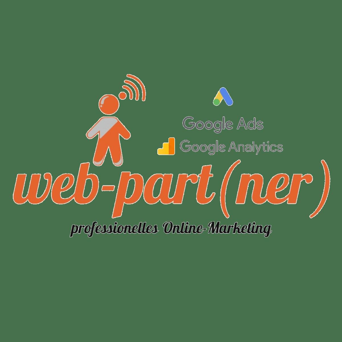 Logo von web-part.de; Google Ads Betreuung für Neuss