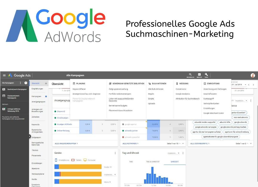 Google Ads Qualitätsfaktor